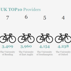no of cycle spaces