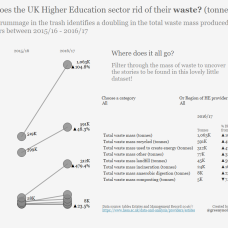 UK HE Waste mass by type