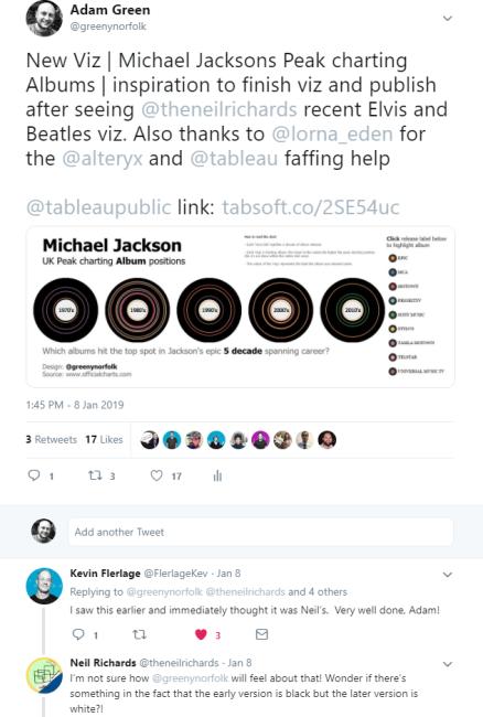 album tweet