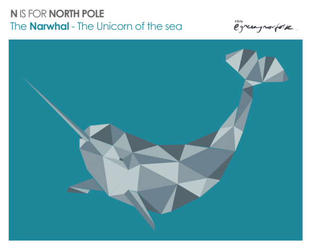 N is for North Pole_Narwhal